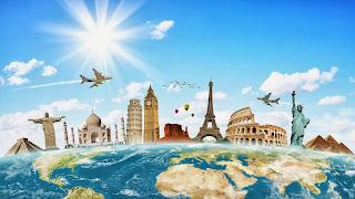 voyage dans le monde entier