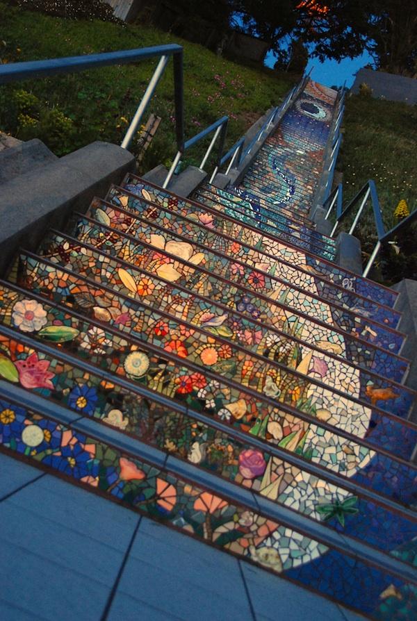 Stairway in San Francisco