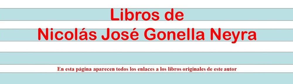 Libros de Nicolás José Gonella Neyra