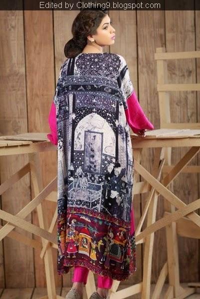 Hadiqa Kiani Winter Linen Vol-2 2014