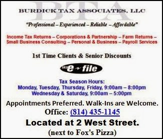 Tax Preparation Services, Click Ad for Info