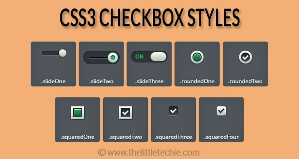 CSS3 Checkbox Styles