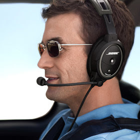 Pilot Bose Headset