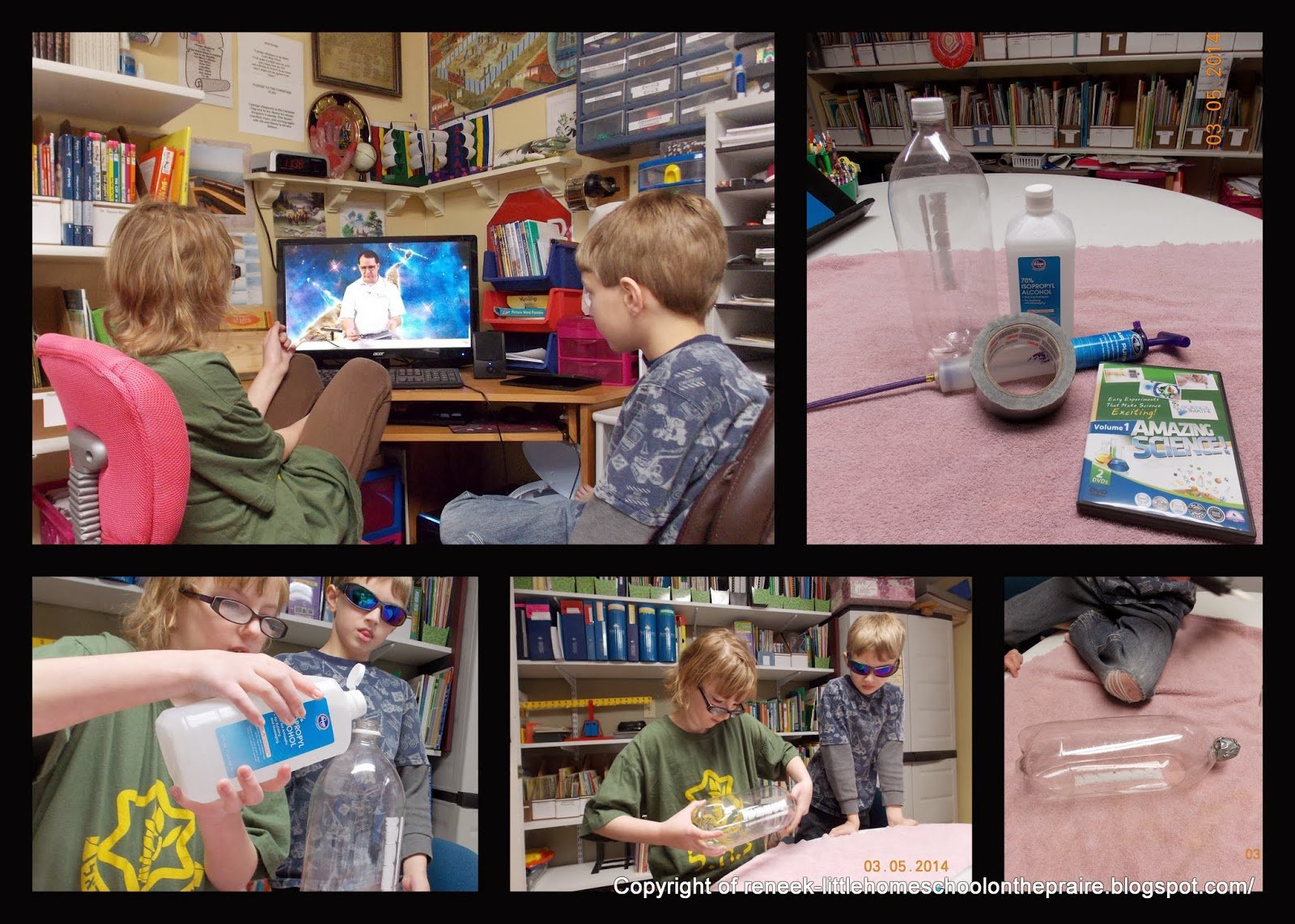 Elementary Homeschool Science Experiments