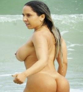 Mulher Melão festeja lei que libera nudismo: 'Lugar de gente pelada'
