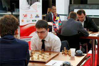 Levon Aronian (2795) 1/2 Maxime Vachier-Lagrave (2742) © Chessbase