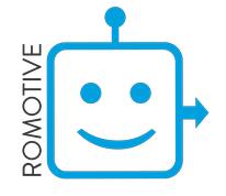 Romotive logo
