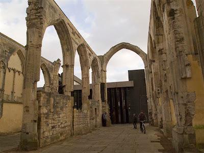 Ruinas del Monaterio Franciscano de Gloucester