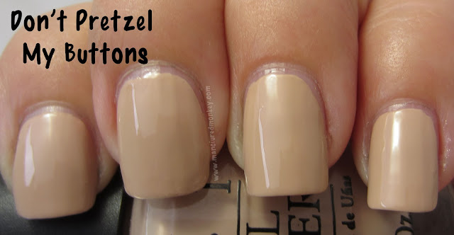 OPI Germany - Don't Pretzel My Buttons