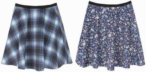 Bershka colección reversible falda
