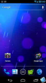 Android 4.0 ICS Screenshot