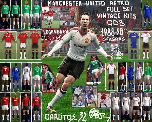 PES 2013 Manchester United 1988/1990 Kits by CARLITOS 32