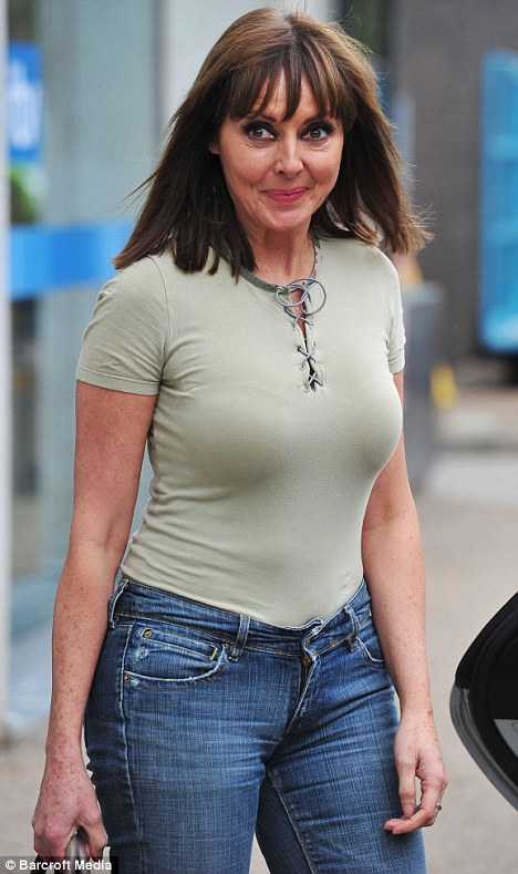Famous And Celebrities Not Many 50 Year Old Women Could Wear That Carol Vorderman Shows Off