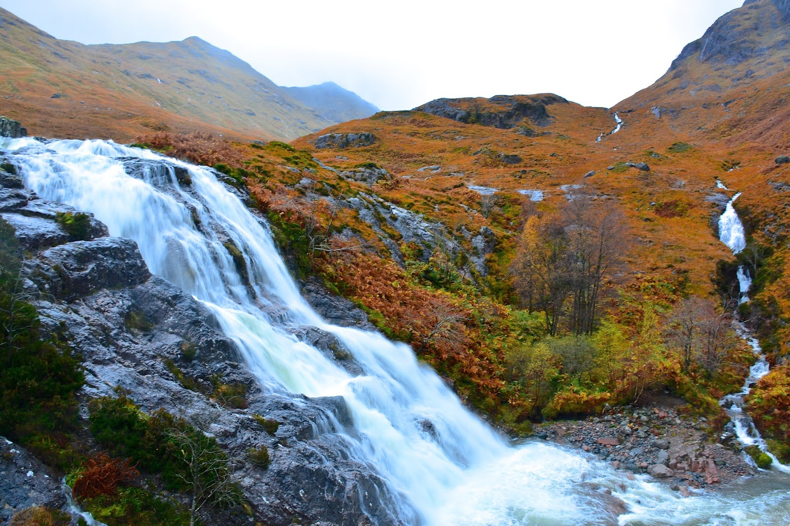 waterfall in Glencoe