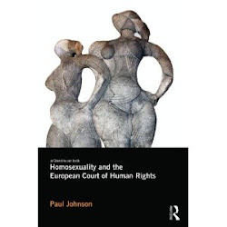 My recent book: Homosexuality and the European Court of Human Rights