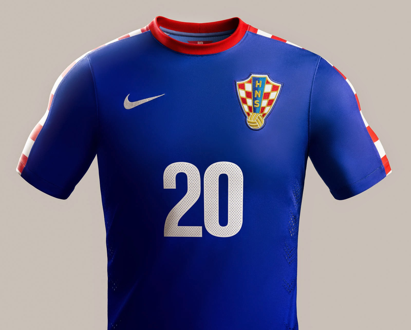 CROATIA JERSEY WORLD CUP 2014 GRED AAA