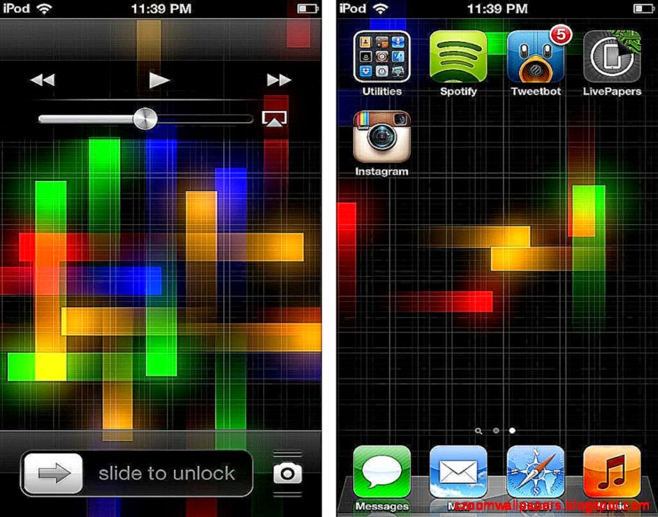 LivePapers39 adds animated wallpaper to jailbroken devices