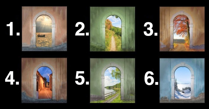 Pick A Door That Stands Out The Most. Then See What It Says About Your Future