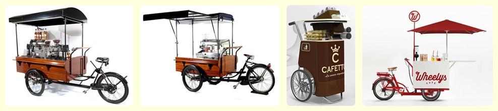 Gerobak Sepeda dan Becak Unik