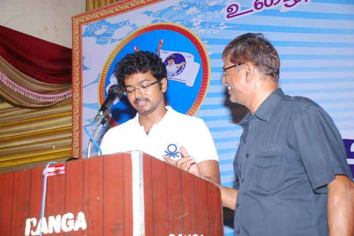 Photo And Wallpapers: actor vijay meeting pictures, tamil actor vijay ...