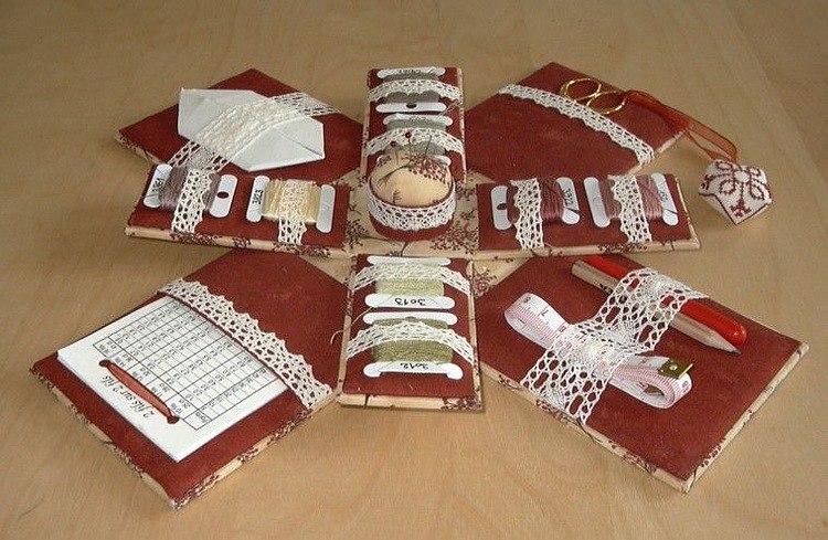 Шкатулки органайзеры для рукоделия своими руками
