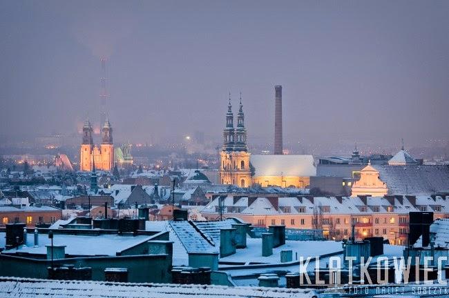 Nad dachami poznańskich kamienic