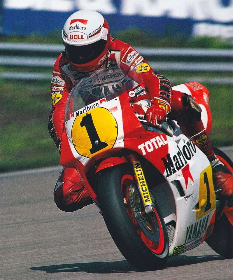 Racing Caf 232 Photo 504 Eddie Lawson 1985