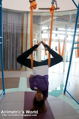 AntiGravity Yoga at Beyond Yoga