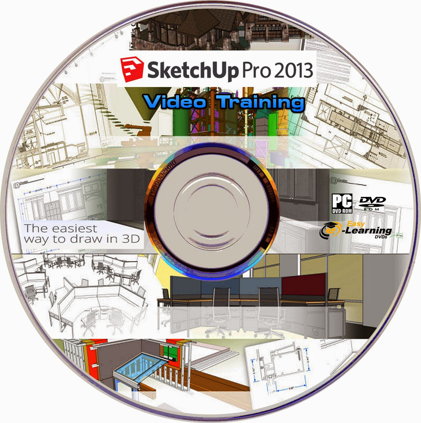 Trainingdvds self learning sketchup pro 2013 video for Sketchup 2013