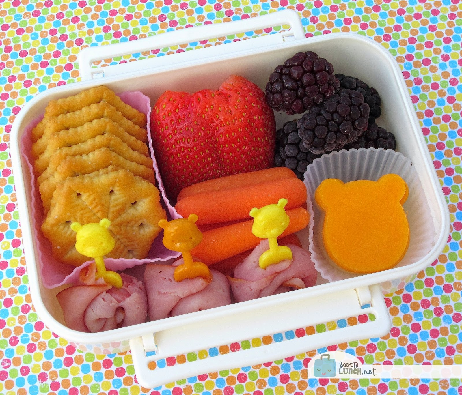 We opted for a very cute Winnie the Pooh snack box today since no one required a full lunch. In this snack box we have Winnie the Pooh shaped cheeses ... & BentoLunch.net - Whatu0027s for lunch at our house: Winnie the Pooh ... Aboutintivar.Com
