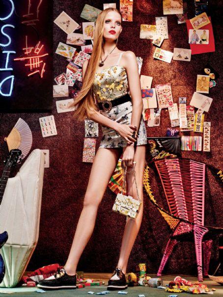 Fashion Model, @ Alisa Ahmann By Giampaolo Sgura For Allure Magazine, January 2016