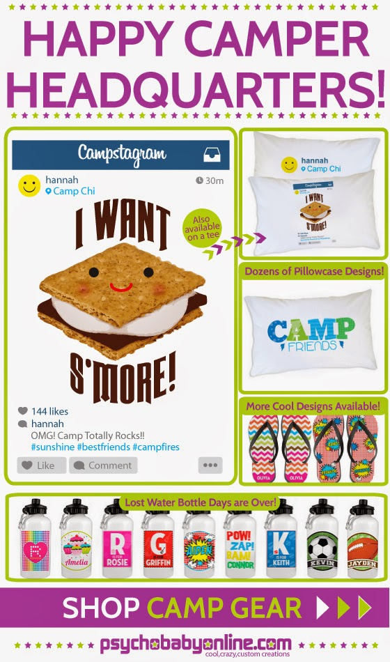 Personalized Camp Gear for Kids