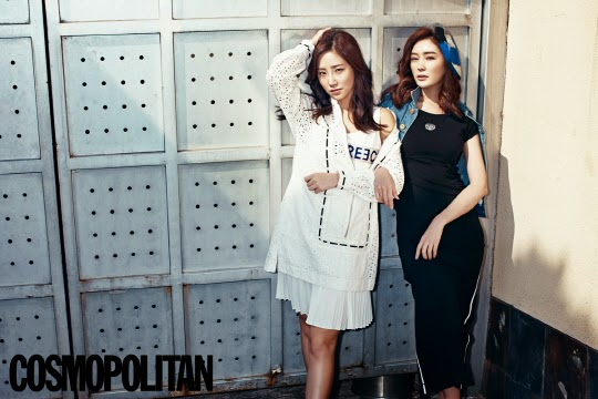 Choi Hee and Gong Seo Young - Cosmopolitan Magazine April Issue 2014