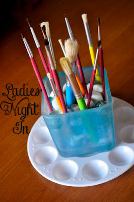 How To Host A DIY pinterest Ladies' Night In
