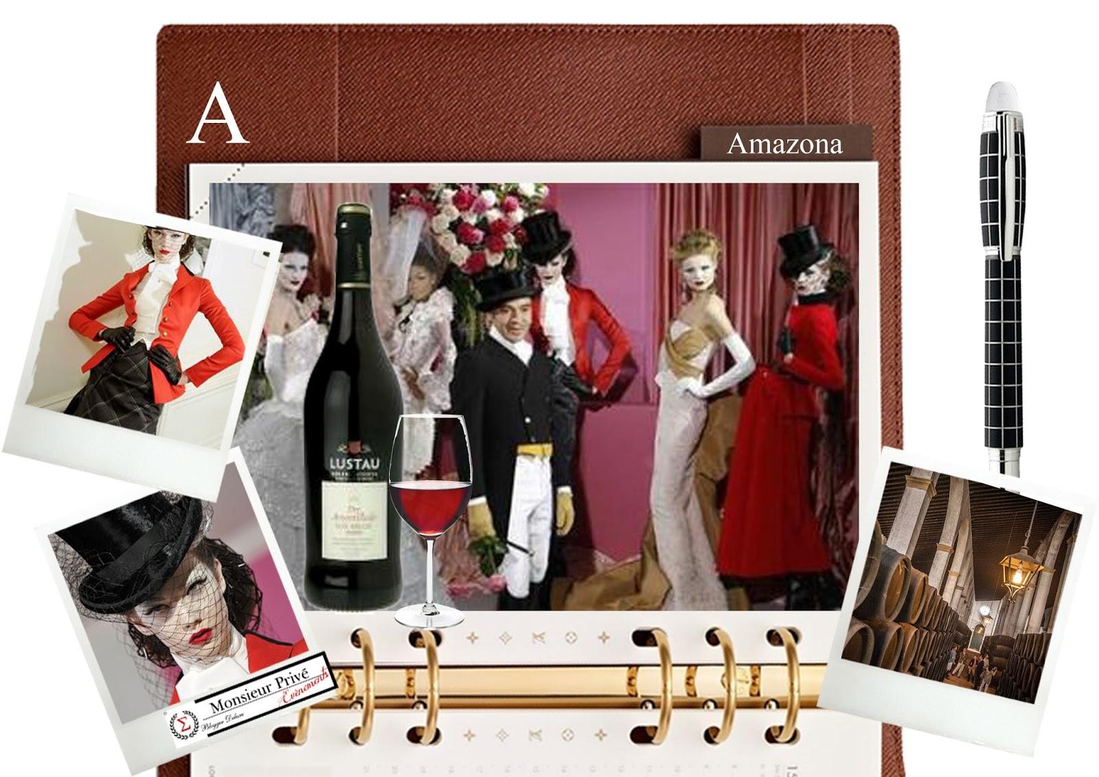 Ejemplos de looks estilo amazona en la actualidad presentados en la alta costura de París