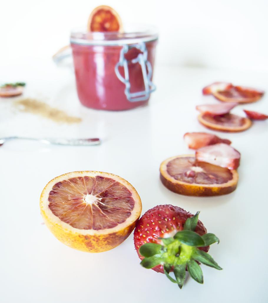 receta de fresas con zumo de naranja, ideas para el menú con invitados