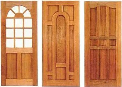 rumah minimalis modern: gambar dan contoh model pintu