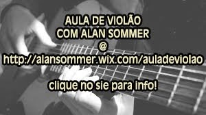 AULAS DE VIOLÃO COMIGO!