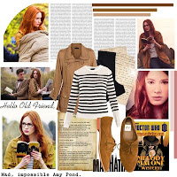 Goodbye Pond, Amy Pond Character Inspired Outfit by fiftyshadesofinsanity