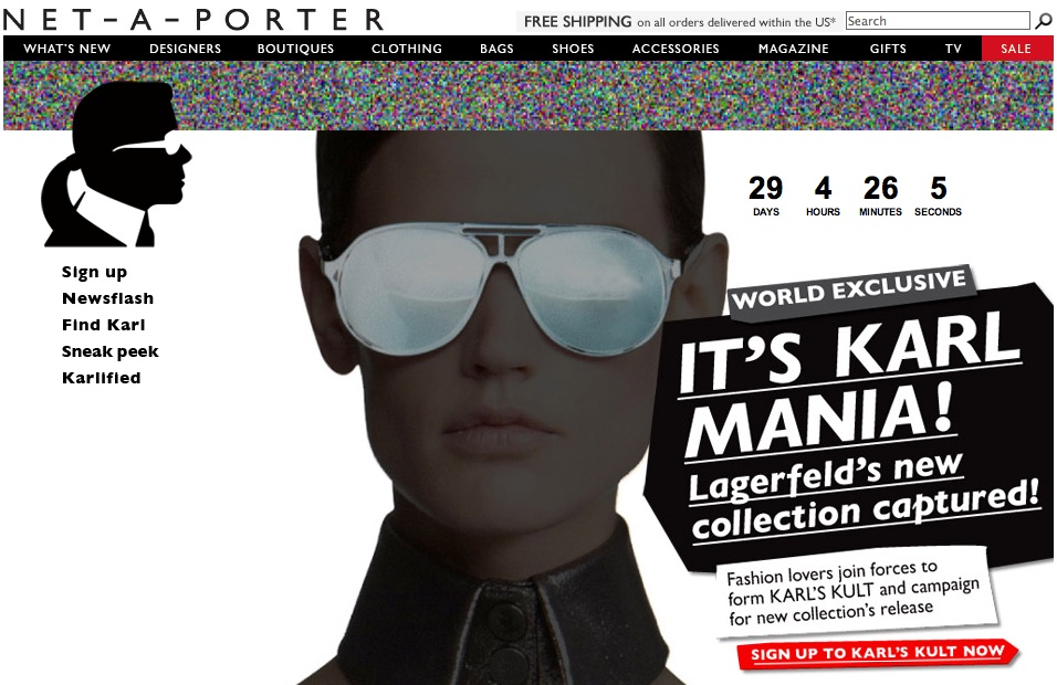 Karl Lagerfeld sold online at net-a-porter.com