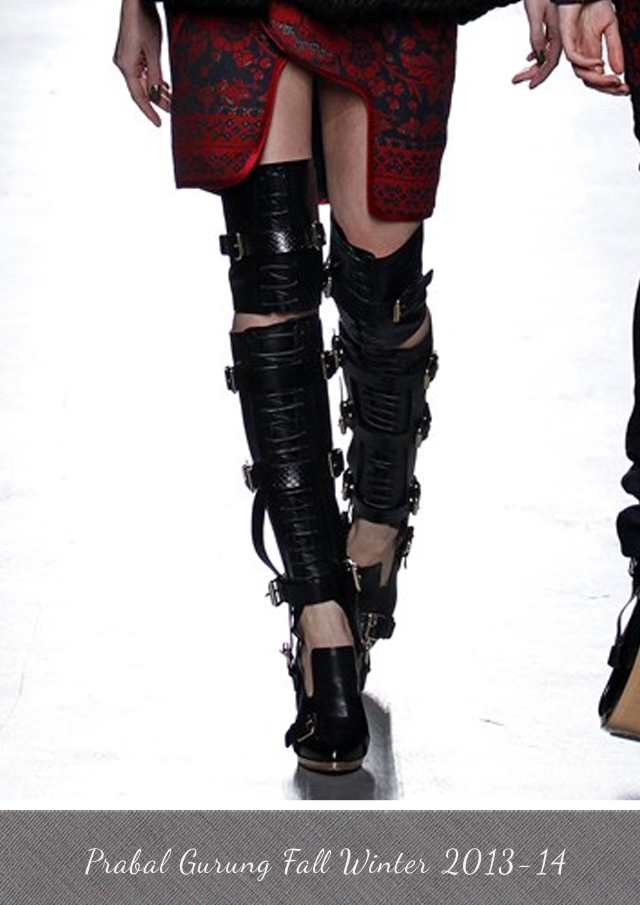 Prabal Gurung boots from Fall Winter 2013-14