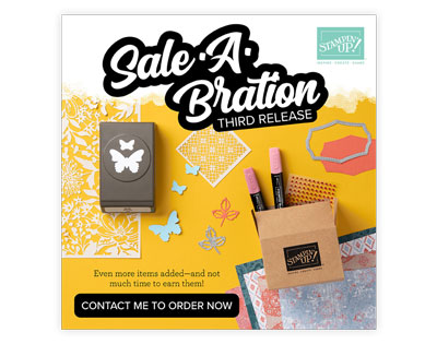 Sale-A-Bration Third Release brochure Stampin' Up!