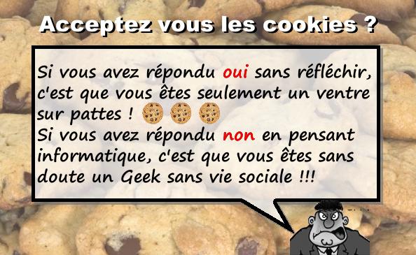 Les cookies en informatique : la recette