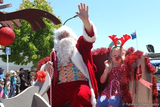 Central Hawke's Bay Christmas Parade, Ruataniwha St, Waipukurau. photograph