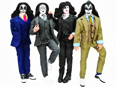 "Figures Toy Company Retro/Mego Style KISS ""Dressed To Kill"" Figures"