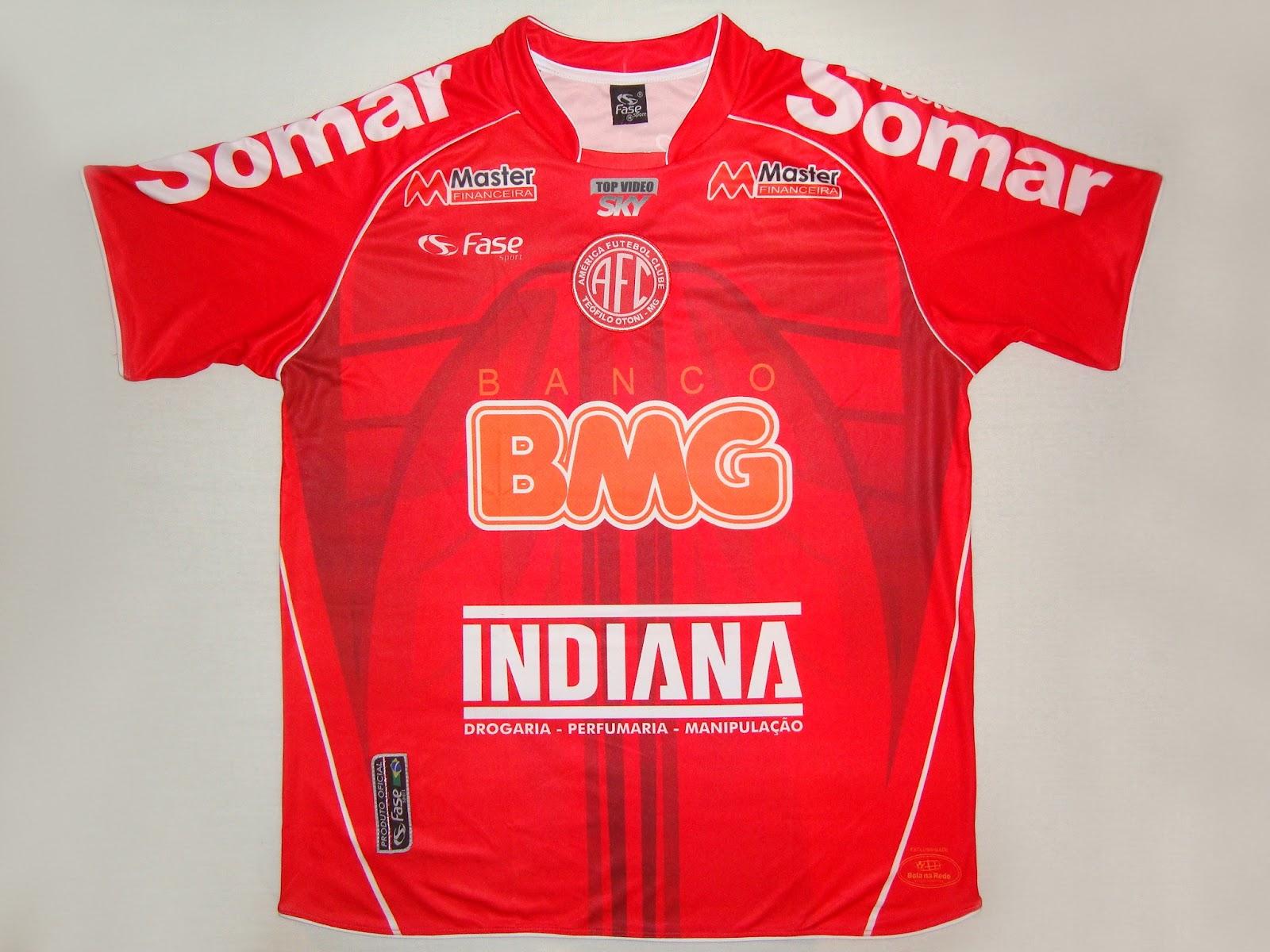 2d12ac4595 América Futebol Clube (Teófilo Otoni MG) - Show de Camisas