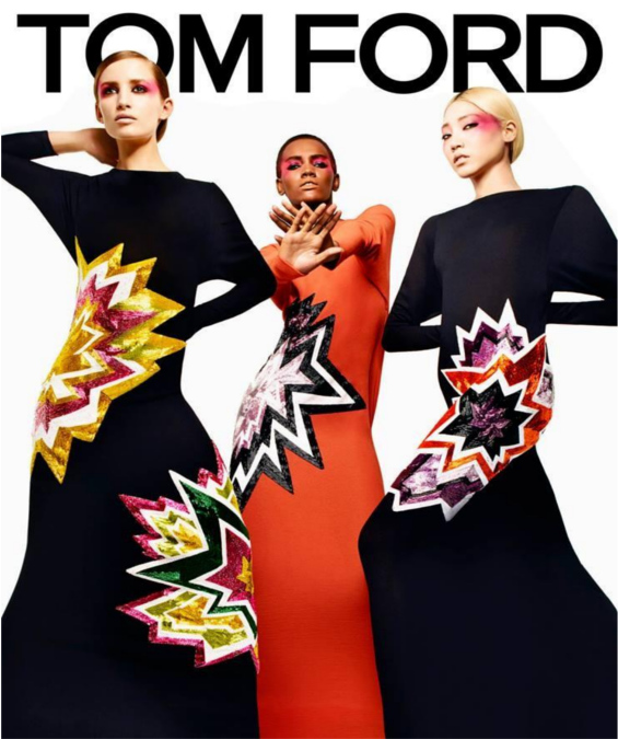 tom ford print dresses