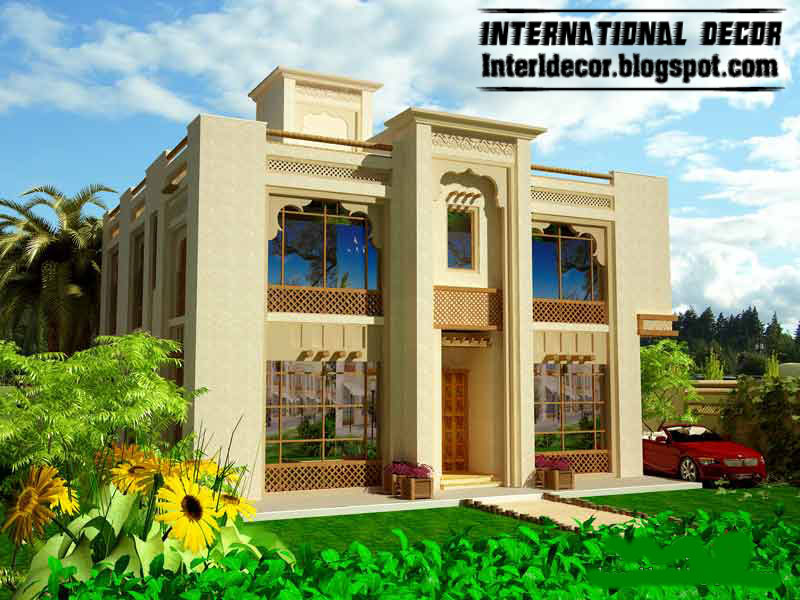 Modern exterior villa designs ideas 2013 modern exterior for Contemporary villa plans