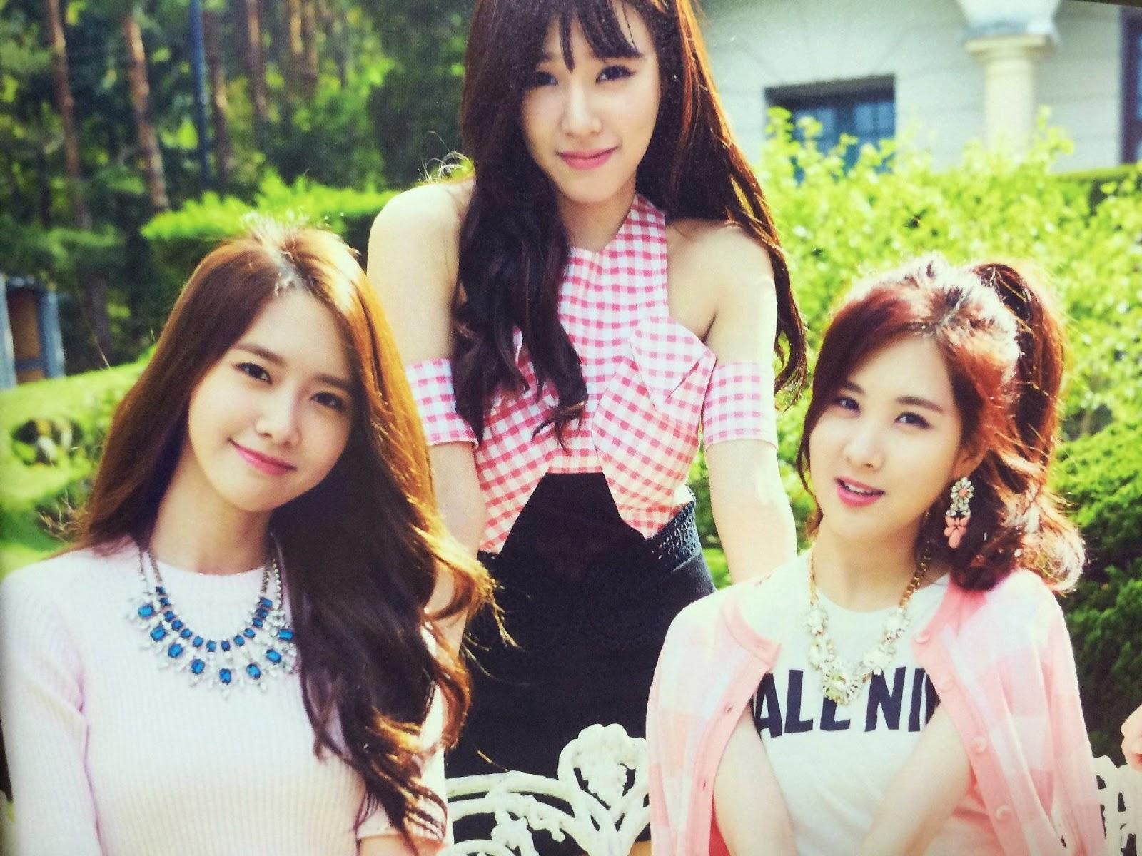 SNSD Girls Generation The Best Scan Wallpaper HD 10