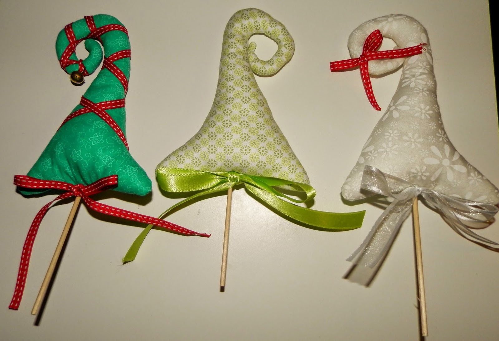 Coton et Création : sapins de Noël en tissu